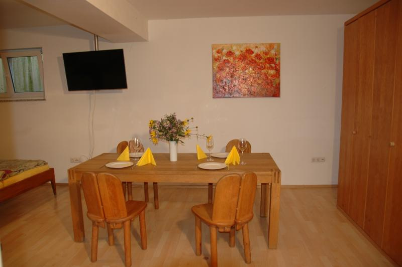 Large room - dinner table