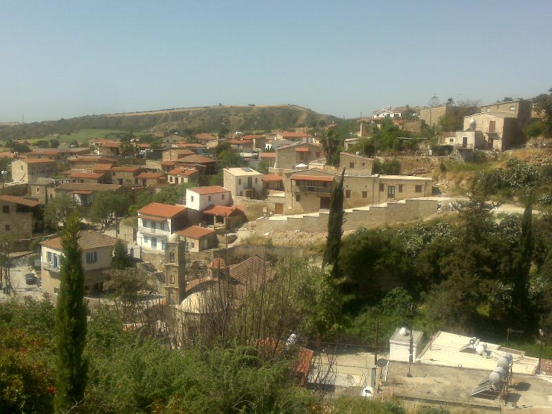 Tochni view from the house