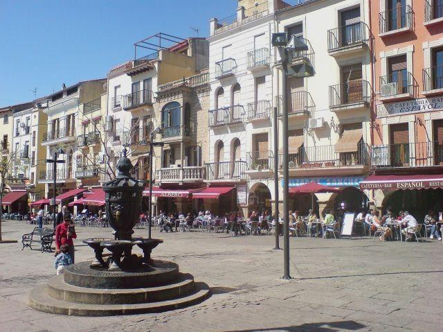 Plaza mayor/Plasencia