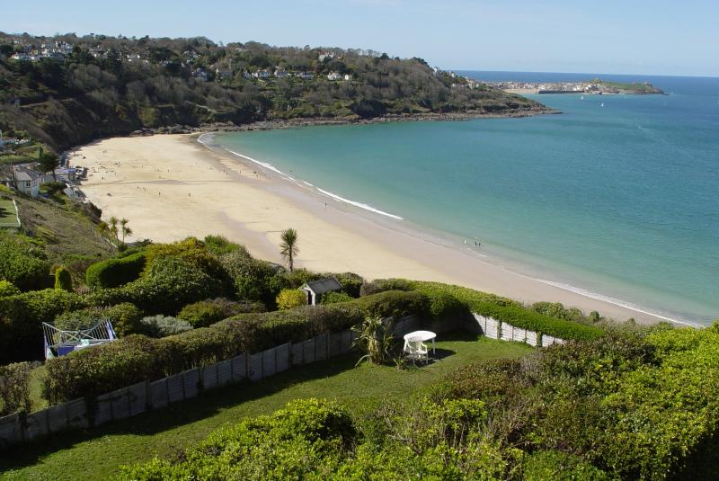 Carbis Bay beach viewed from apartment