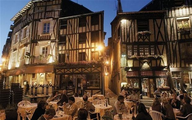 Limoges at Night - Capital of the Haute Vienne and world renowned ceramics