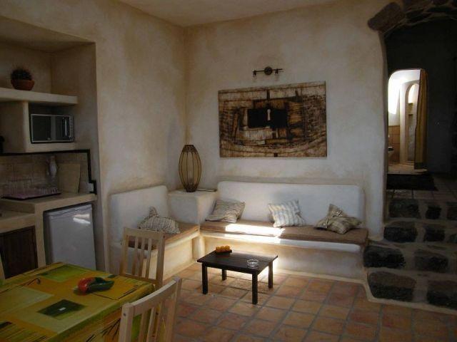 Sala de estar de Las Maretas