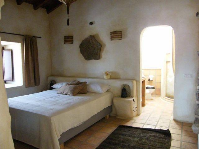 La camera da letto e bagno Maretas di accesso