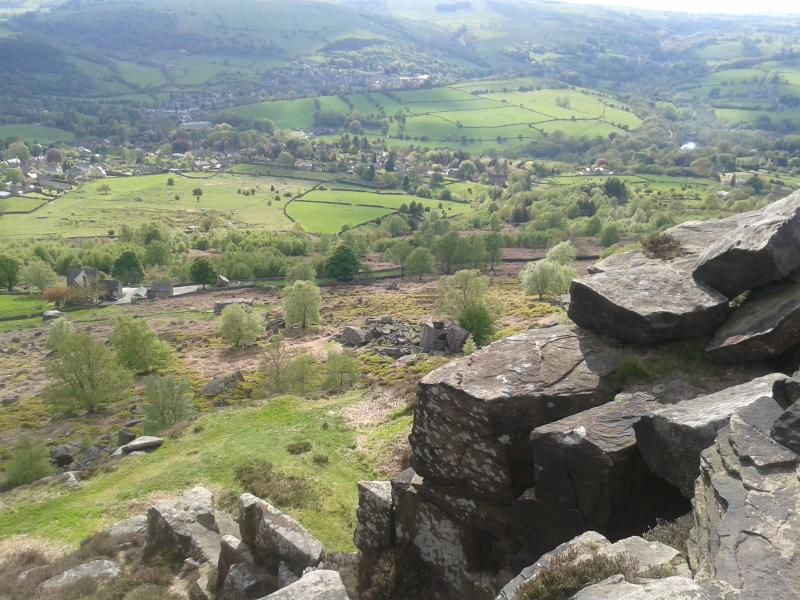 View from Curbar Edge #1