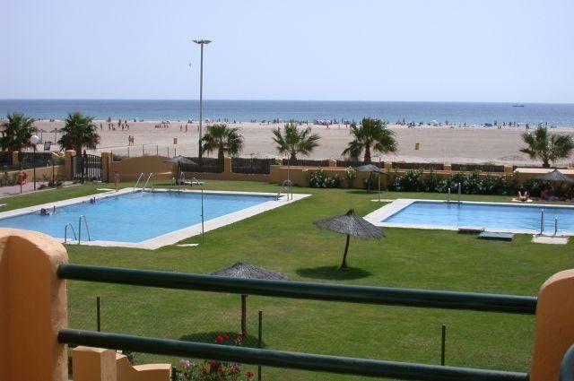 Apto Los Lances Playa I en Primera linea de playa, location de vacances à Tarifa