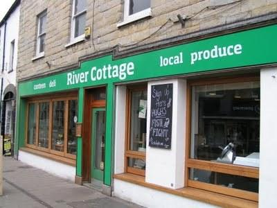 River Cottage canteen and HQ are both just a 15 minute drive away