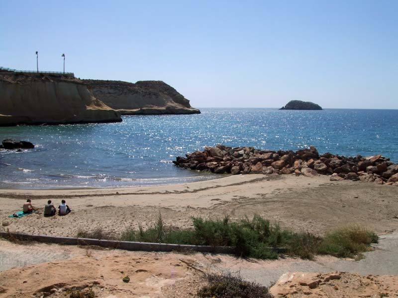 Hidden bay in San Juan de los Terreros