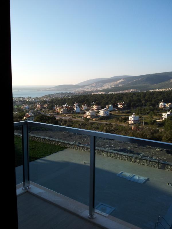 first floor bedroom balcony