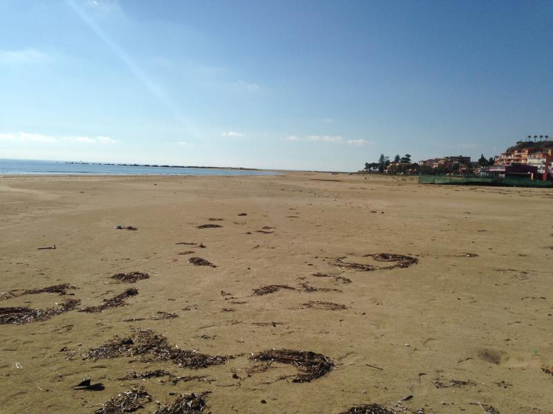 Spiaggia davanti Costa del Sol