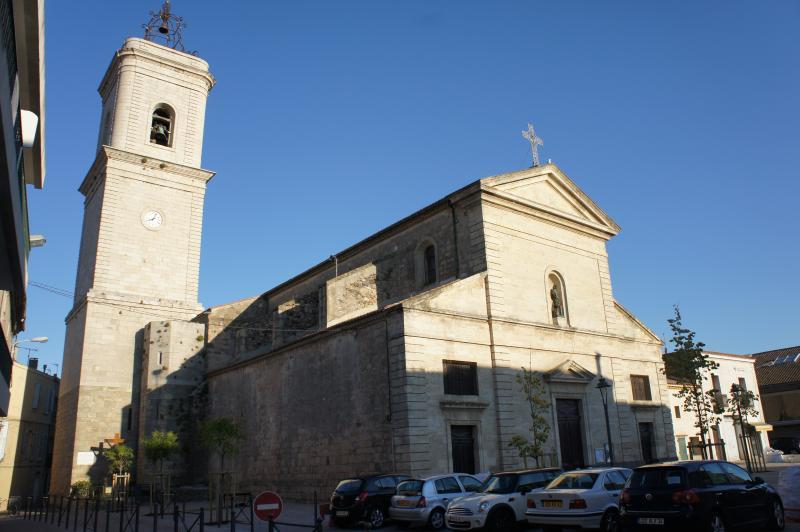 Eglise de Jean Baptiste in Marseillan