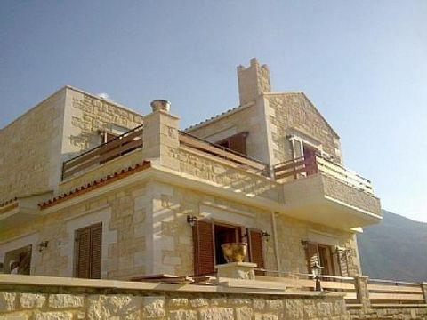 villa in Giorgioupolis real stone house
