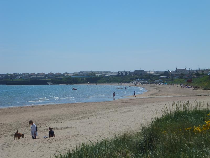 The beach on a summers day