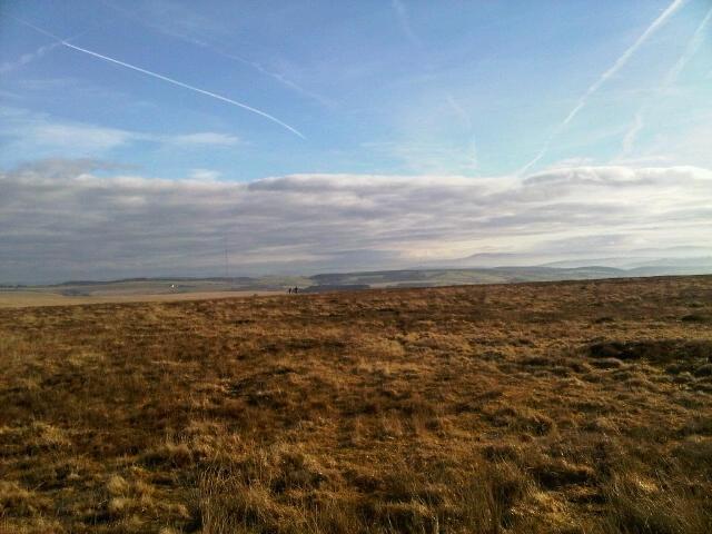 Stunning views from Mynydd Llanllwni