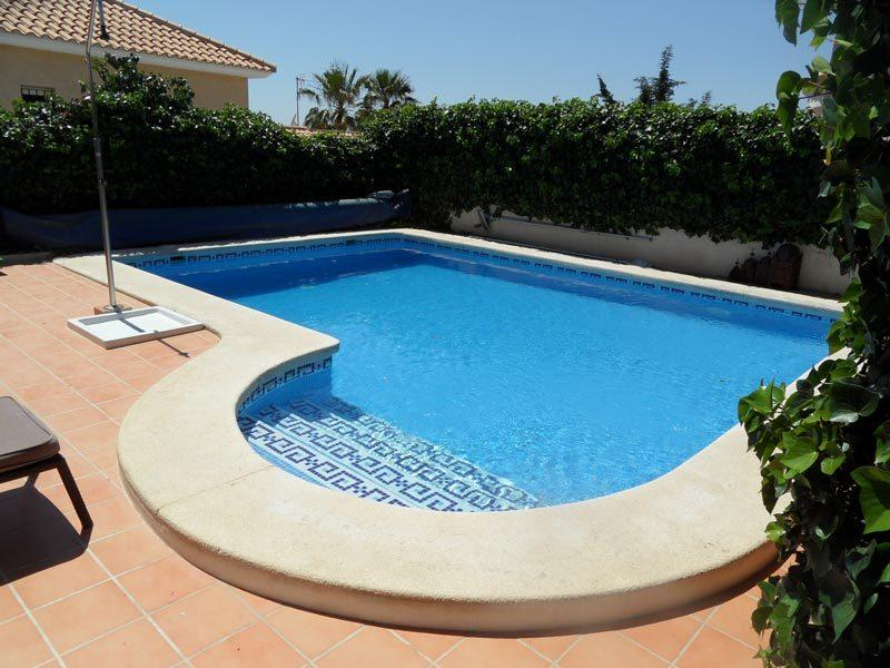 Relax in your very own south facing private pool with all day sunshine