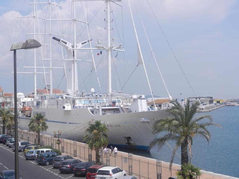 Vue port depuis le séjour