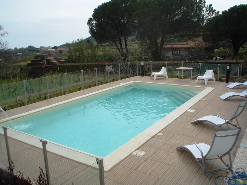 VillaEtna with its Private Pool with wonderful view where you enjoy even his intimate atmosphere!