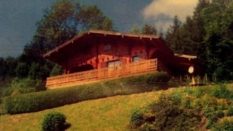 Apartment is on the ground floor of the chalet where the owners live