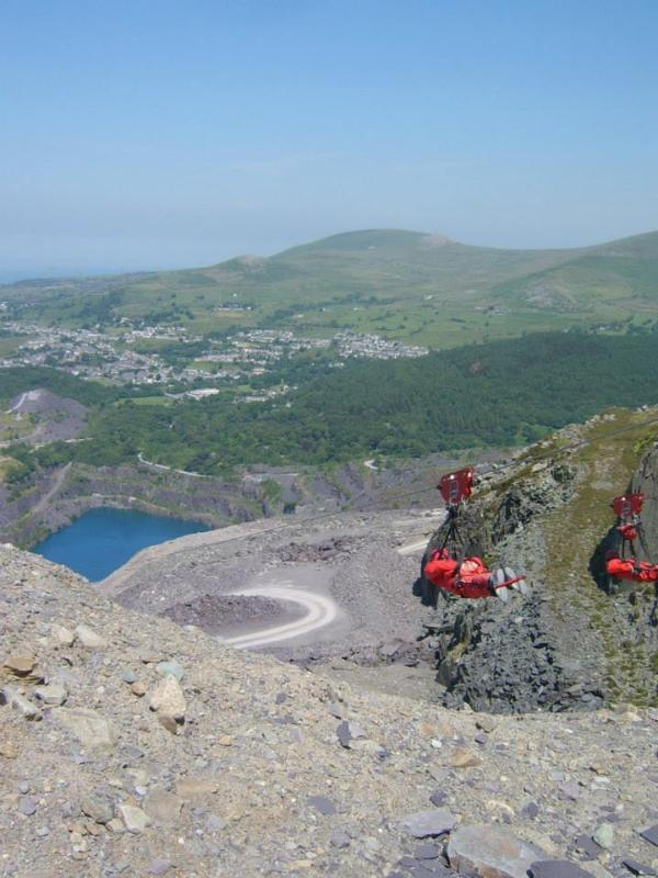 Zip World - Bethesda - about a 35 minute drive and Zip World Titan, Blaenau - 2 minutes away