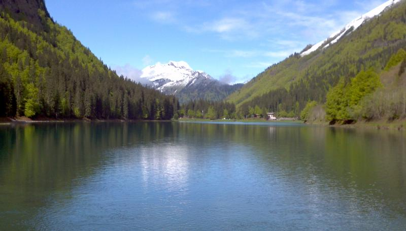 Nearby Lake Montriond