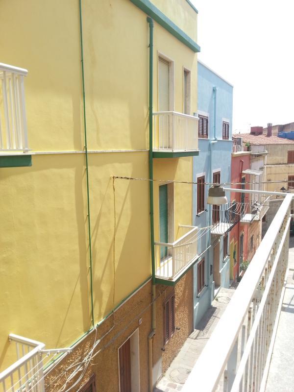 carruggi dal balcone