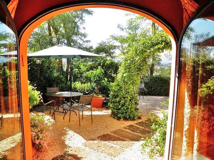 Private garden Visconti