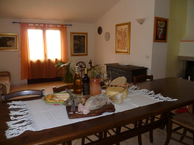 Ground floor. Tipical sardinian foods