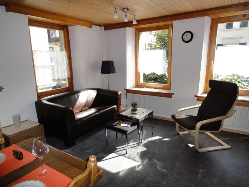Wohnzimmer mit canapé