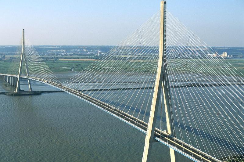 Pont de Normandie, Le Havre