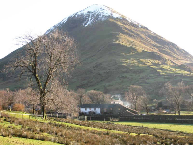 Hartsop Dodd with Mill Cottage in foreground