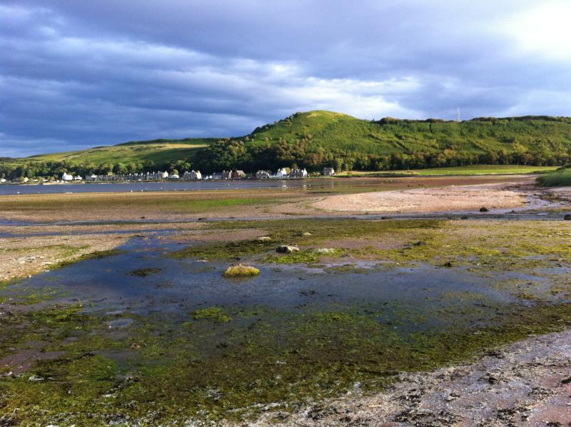 View of Kilchattan Bay