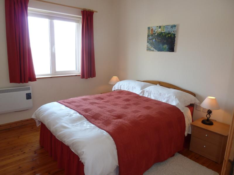 Top floor double room with views of Roundstone Harbour