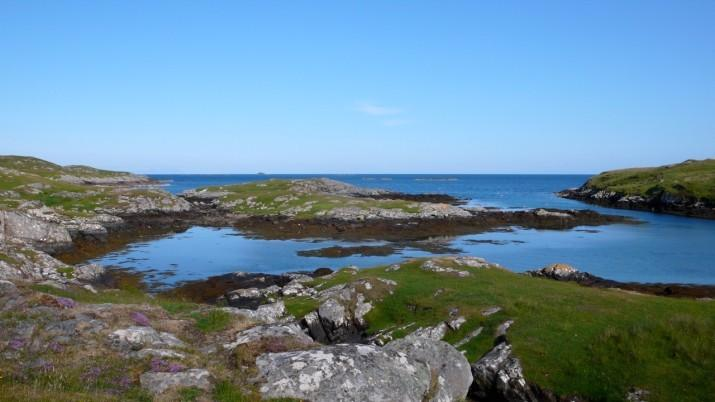Out towards the Minch