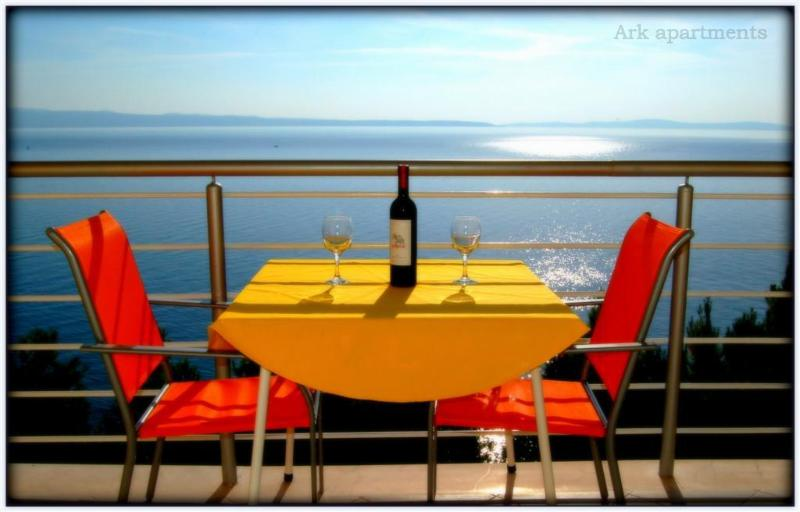 Panoramic Sea View Balcony