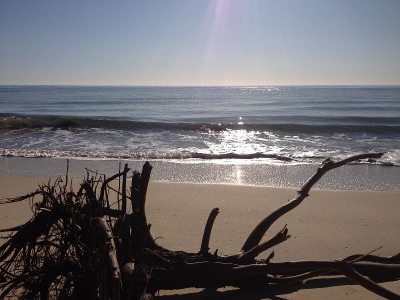 Morning - Beach behind house 3 mins walk