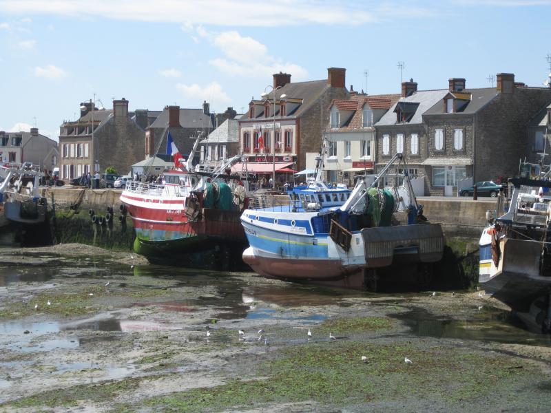 This is nearby Barfleur - a wonderfully quaint fishing village