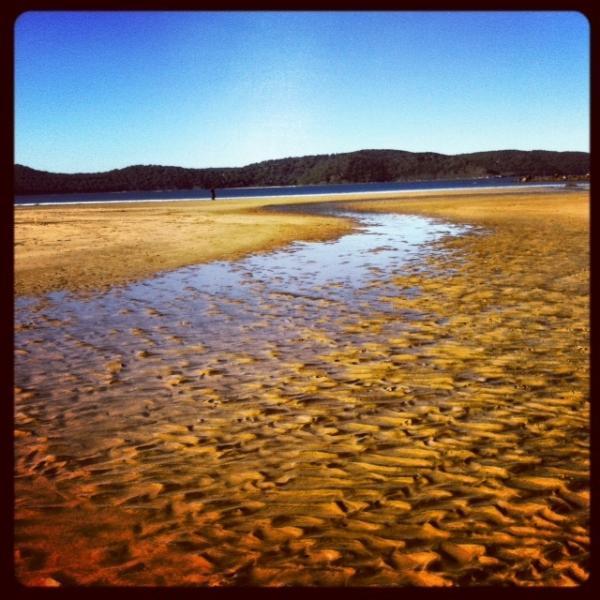 the Winter beach 250 metres from your door step