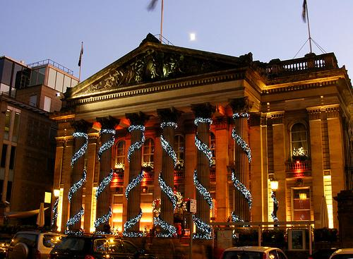 The Dome bar and restaurant George Street at Christmas