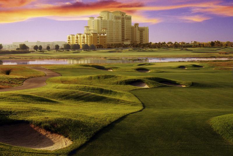 Golf de classe mondiale au Champions Gate Resort à proximité.
