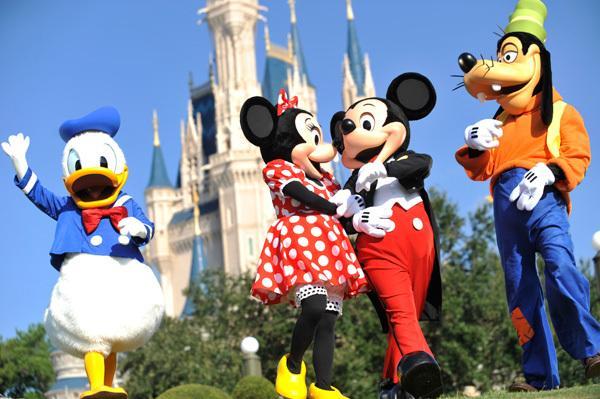 Mickey et ses amis sont à seulement 10 minutes en voiture :)