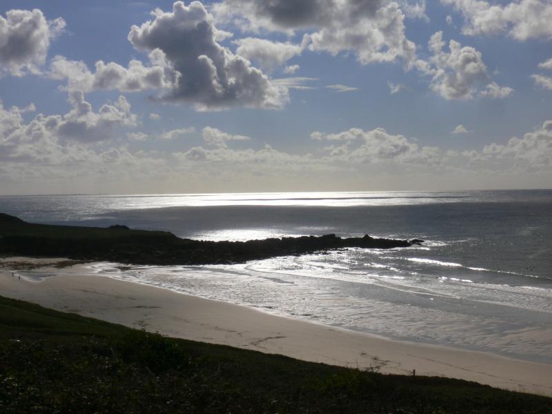 Sandy beach 10 minutes walk