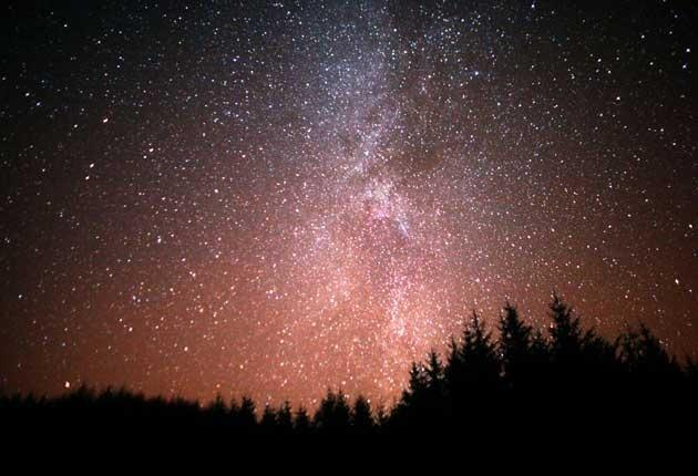 Dark Skies - amazing star gazing