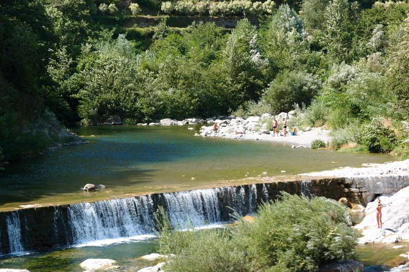 River 'beaching' in Badalucco