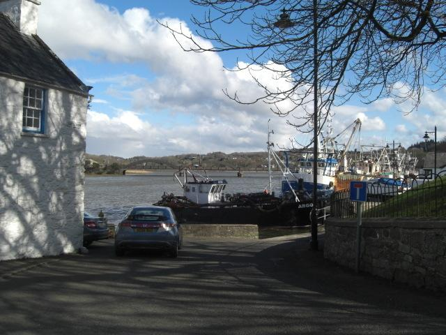 Harbour at Kircudbright