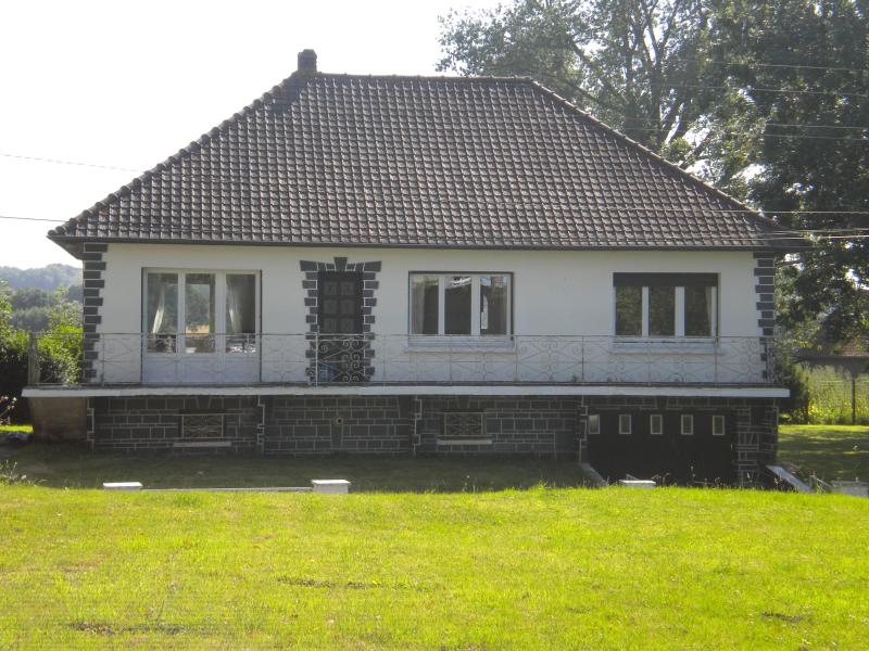 Front view of house from opposite side of the road