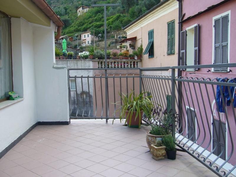 Larger balcony at the rear, ideal for al fresco dining in the summer