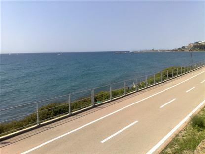 A magnífica ciclovia de nossa Riviera flancos do litoral e é inveja da Europa!