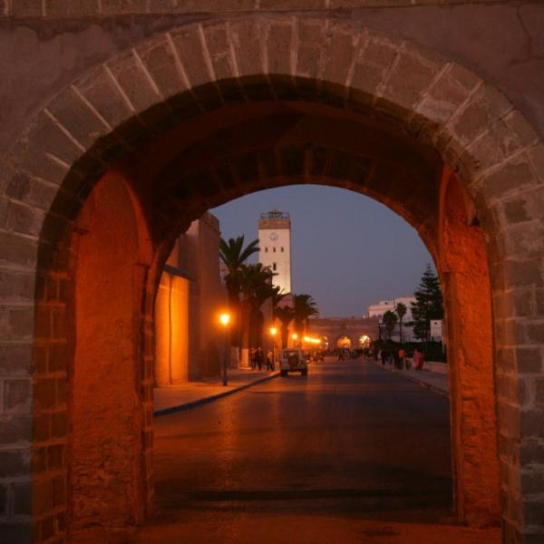 Essaouira Medina - looking towards the horloge