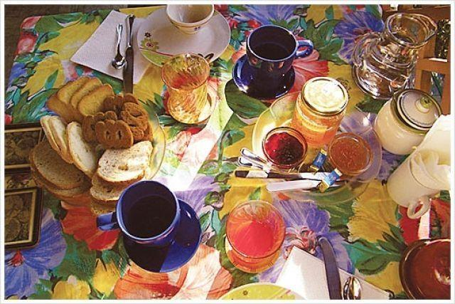 The breakfast at la Casa di Ulisse B&B