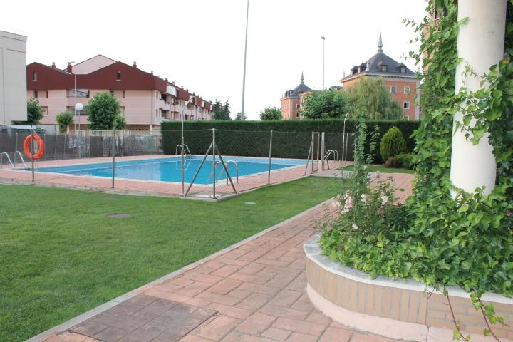 Summer season swimming pool