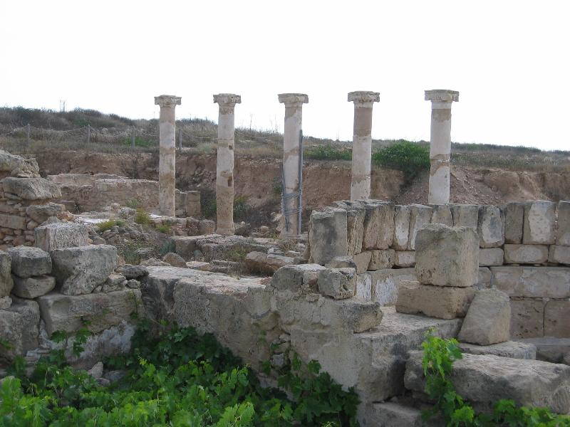 World Heritage Archaeological site next to Paphos Harbour. Roman ruins & mosaic's.